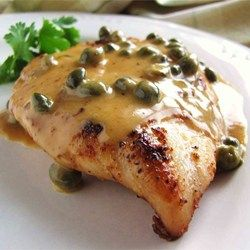 Chicken Breast w/ Lemon & Caper Cream Sauce | Everything Country