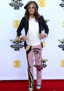 50th Academy of Country Music Awards Arrivals at AT & T Stadium in Arlington, Texas Featuring: Steven Tyler Where: Arlington, Texas, United States When: 19 Apr 2015 Credit: Judy Eddy/WENN.com