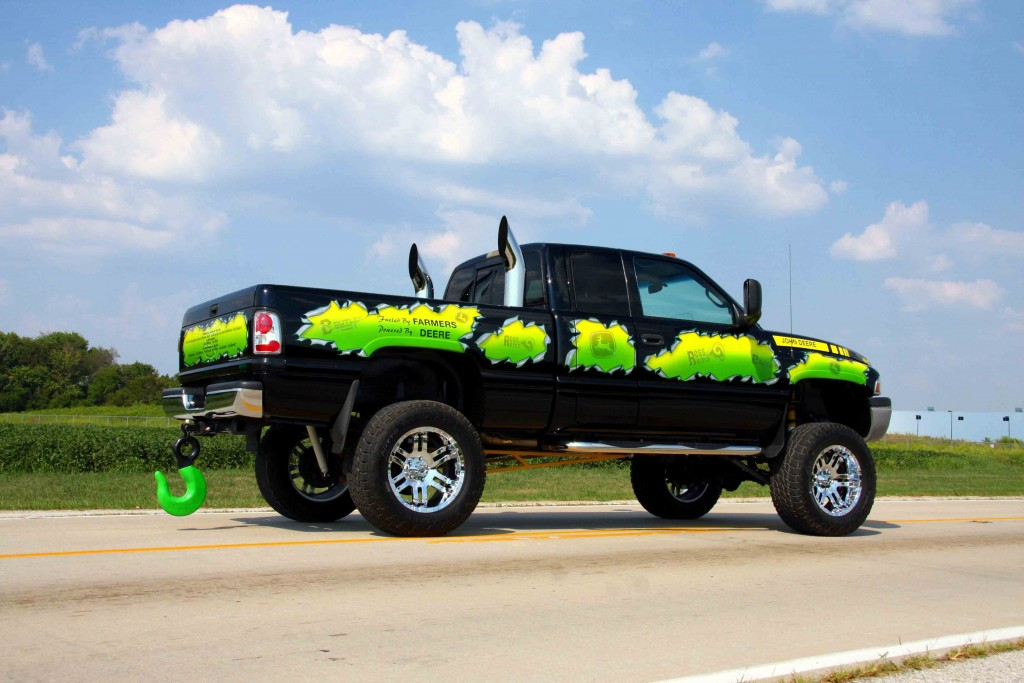Chevy Trucks Lifted With Stacks Pick Up Trucks: Jacked...