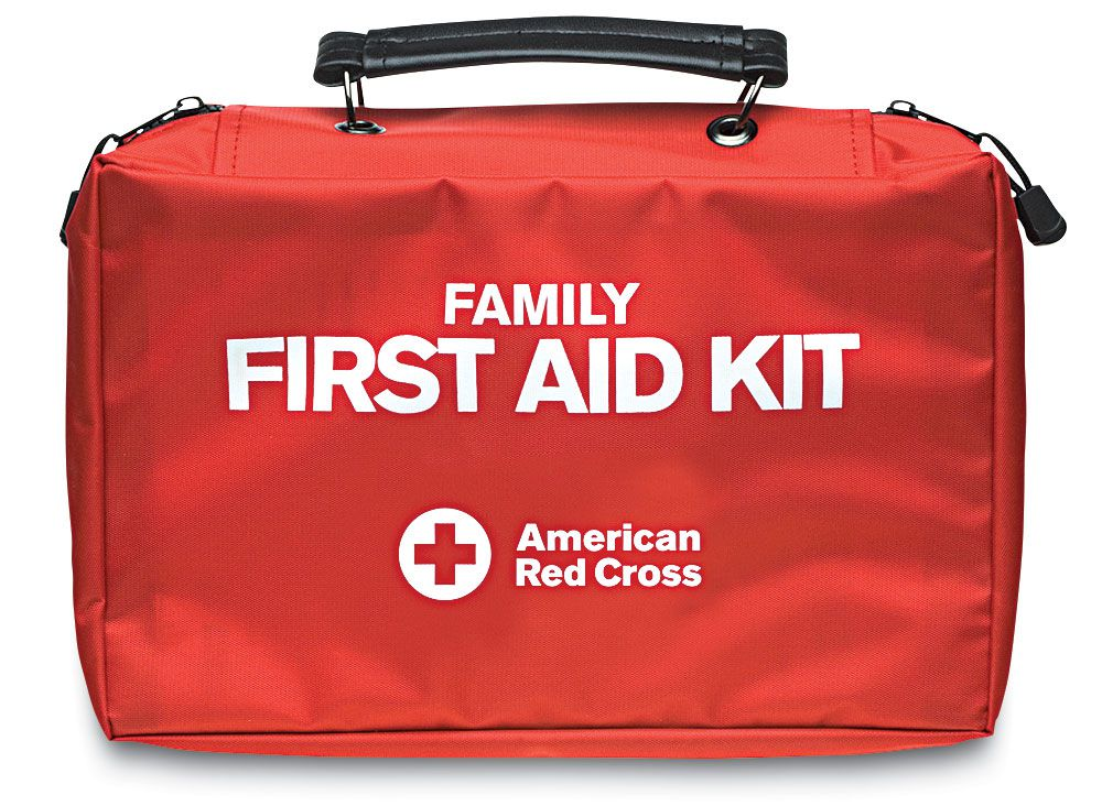 First-aid supplies should cover a broad range of needs, should a mishap occur far from the dock.