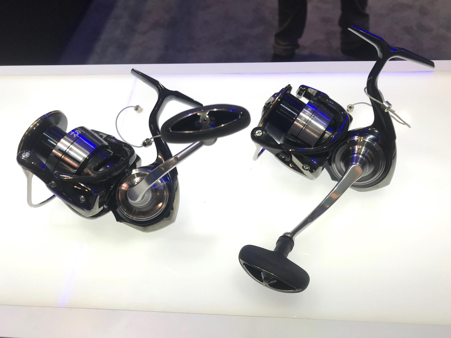 Daiwa's new Certate LT spinning reels feature smaller, leaner bodies that are lightweight but very strong and smooth, ideal for tough light-tackle battles. Available in 4 sizes from 2500 to 5000 and 2 different retrieve ratios 5.2:1 and 6.2:1.