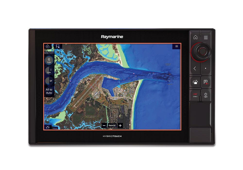 "Navionics adds SonarChart Shading for its Platinum+ coastal marine charts, providing detailed renderings of the seafloor in 1-foot contours from data amassed from proprietary surveys and crowdsourcing. Shades of blue reveal structure at a glance. Adjustable transparency blends imagery with either the SonarChart bathymetry map or the nautical chart. Starting at $199 for an annual Platinum+ subscription; <a href=""http://www.navionics.com"" rel=""nofollow"" title=""navionics.com"">navionics.com</a>"