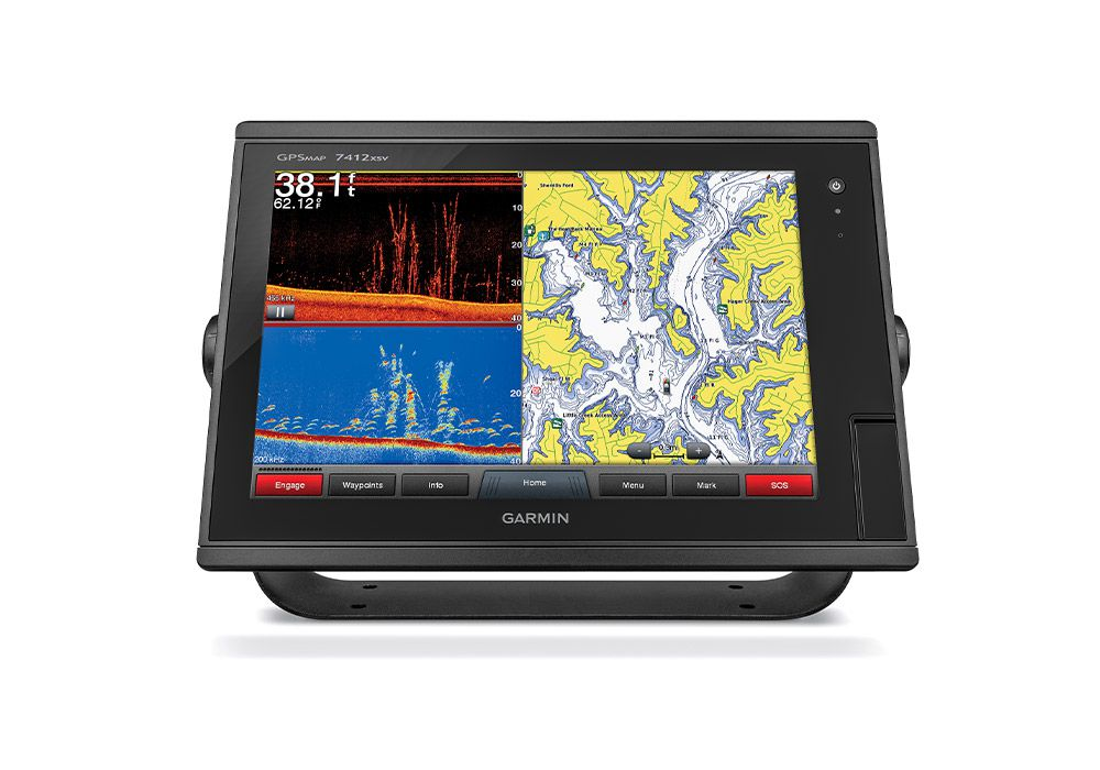 The minimum requirement for electronics includes a plotter with weather overlay or radar.