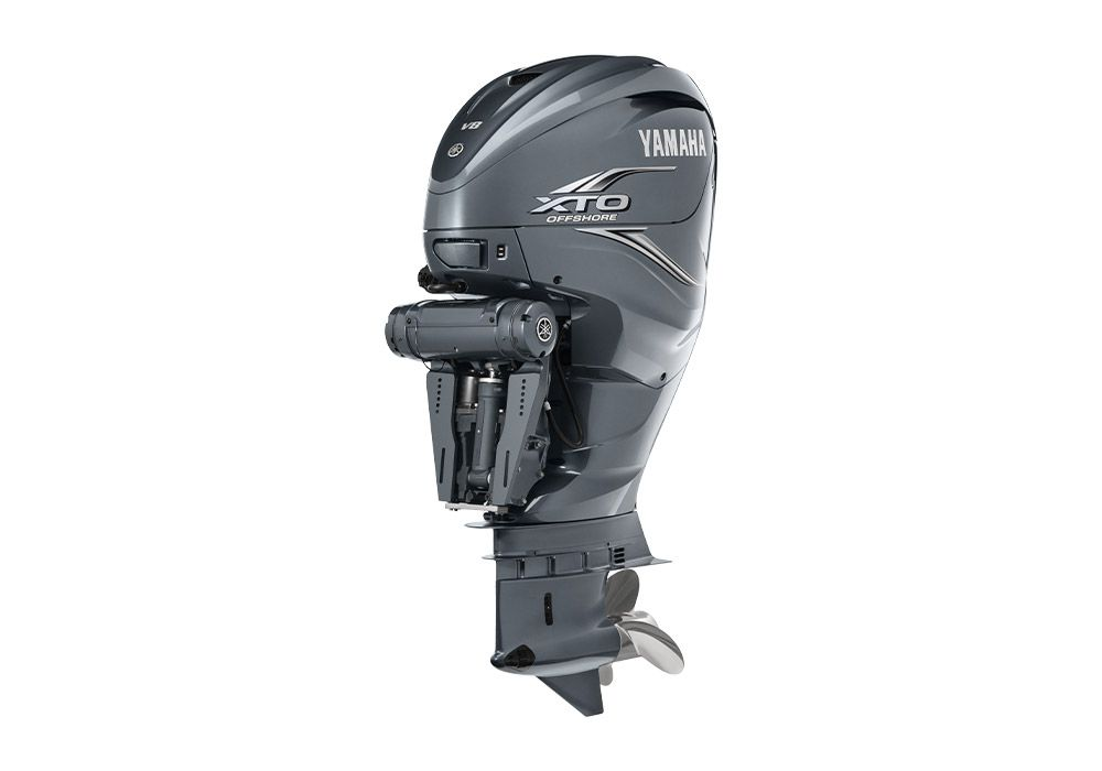 Available with triple 425 XTO outboards or quads for improved speed and efficiency.