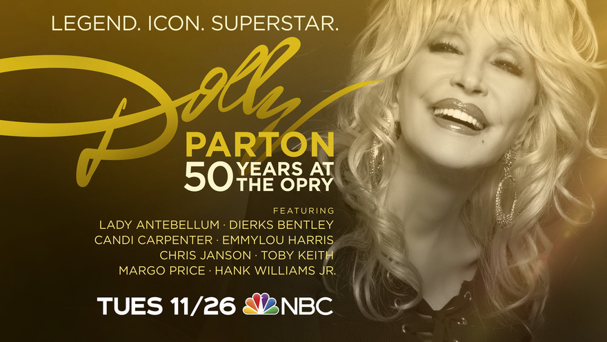 'Dolly Parton: 50 Years At The Opry' Airing Tuesday, Nov. 26 On NBC