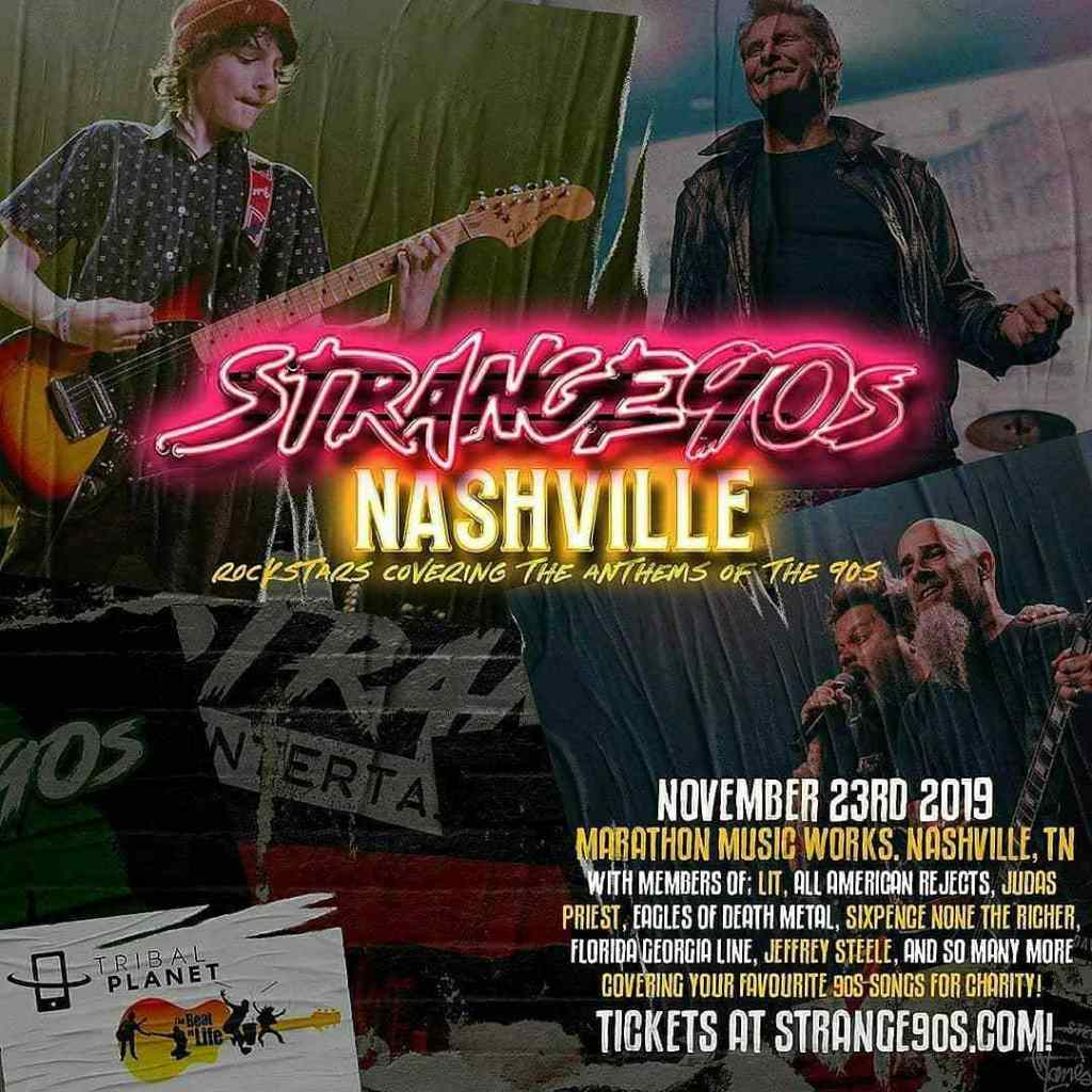 From The Stage To The Hospital And A Courageous Return To The Stage With Purpose: The Story Of Charity Bomb And Strange 90s Nashville