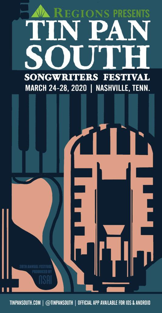 28th Annual Tin Pan South Songwriters Festival Set For March 24th – 28th, 2020