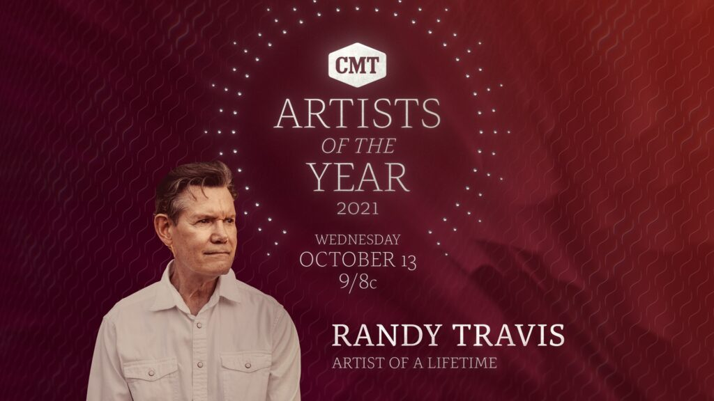 """CMT to Honor the Legendary Randy Travis With """"Artist of a Lifetime"""" Award"""