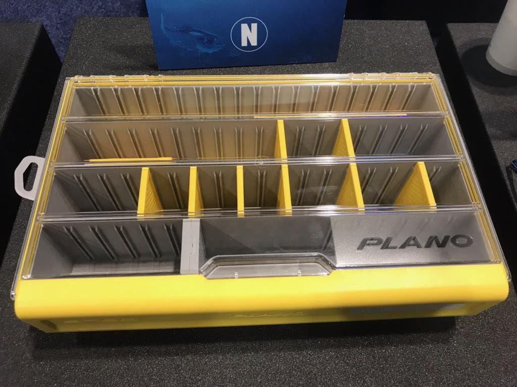 Plano's all-new EDGE is redesigned to keep water out, stop rust and organize like no other tackle box has.
