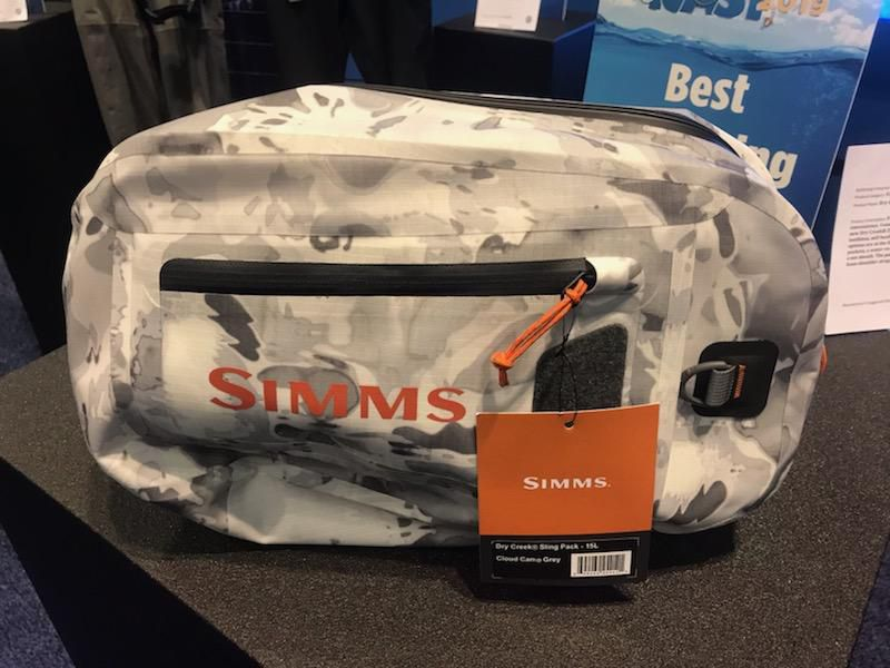 With the Z Sling Pack from Simms, fully submersible organization meets sling pack.