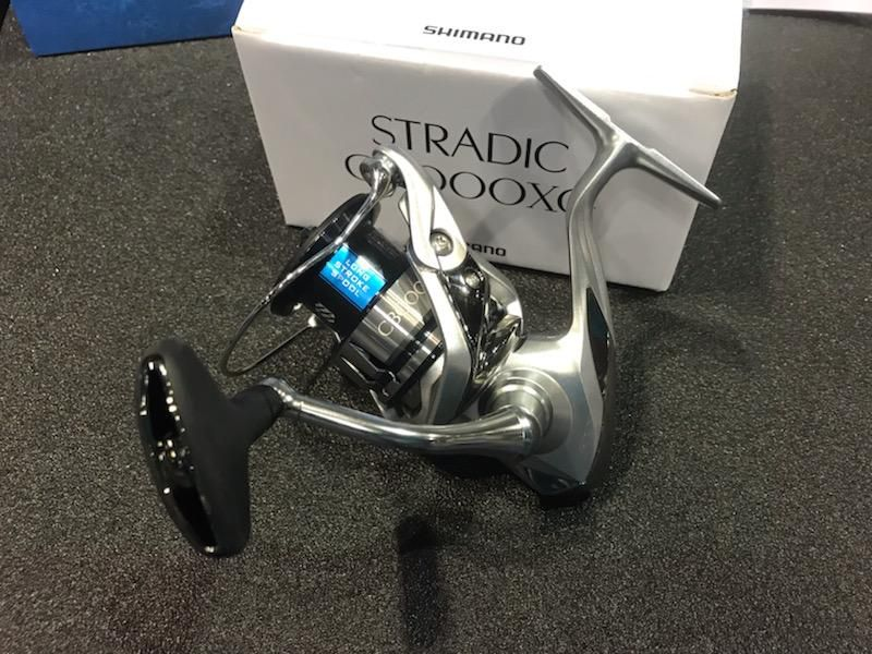 Shimano's Stradic FL Spinning Reels feature MicroModule Gear II for unparalleled smoothness, Long Stroke Spool for even longer casts, Silent Drive Technology for microscopic level tolerances and X-Protect for maximum protection in the harshest saltwater environments. Available in five models: 1000HG, 2500HG, C3000XG, 4000XG and C5000XG.